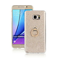 For Samsung Galaxy Note Ringholder Etui Bagcover Etui Farvegradient TPU for Samsung Note 5 Note 4 Note 3