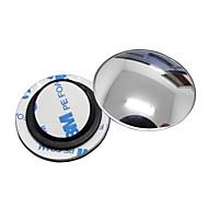 回転ベースとziqiao 1台の車のバックミラー小さな丸い鏡の広角調整可能な視覚凸面