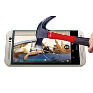 0,3 χιλιοστά μετριάζεται προστατευτικό οθόνης από γυαλί με πανί μικροϊνών για HTC One Μ8 / Μ8 mini / M9