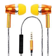 3.5mm auriculares con cable (en el oído) para el ordenador