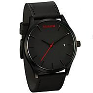 mvmt relojes de cuarzo relojes de los hombres del deporte espectáculos relojes correa de cuero masculino masculino del reloj Relojes