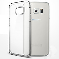 For Samsung Galaxy S7 Edge Transparent Etui Bagcover Etui Helfarve TPU for Samsung S7 edge S7 S6 edge plus S6 edge S6