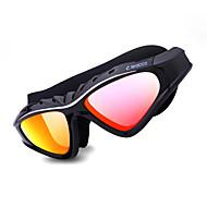 leacco®anti-fog, in maat verstelbaar, anti-uv, krasbestendig voor unisex silicagel (frames) PC (lens) zwembril
