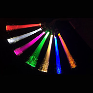5Pcs 1.5W White/Warm White/Blue/Yellow/Green/Red G4 Creative Optical Fiber Decorative Lighting LED Light Lamp (DC12V)