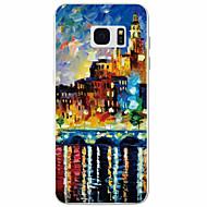 Για Samsung Galaxy S7 Edge Με σχέδια tok Πίσω Κάλυμμα tok Θέα της πόλης TPU Samsung S7 edge / S7 / S6 / S5