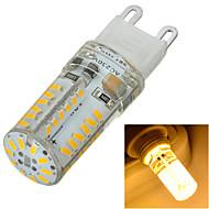 1 stk. Marsing G9 5W 58 SMD 3014 400-500 lm Varm hvit / Kjølig hvit Innfelt retropassform Dimbar / Dekorativ LED-lamper med G-sokkelAC