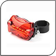 後部バイク光 / 安全ライト LED - サイクリング 防水 / アンチスリップ 単四電池 80 ルーメン バッテリー サイクリング-XIE SHENG