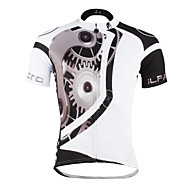 tops(Branco / Preto) - deFitness / Esportes Relaxantes / Ciclismo / Trilha / Sertão / Triathlon / Corrida-Homens / Unissexo-Respirável /