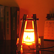 Creative Wood The Pyramid Container Decoration Desk Lamp Bedroom Lamp Gift for Kid