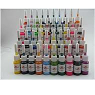 basekey 문신 또는 메이크업 잉크 색상 40 X 5 ㎖