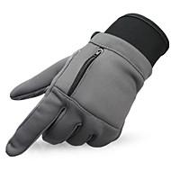 Unisexe Gants Sport de détente Garder au chaud / Vestimentaire / Antidérapage Printemps / Automne / Hiver Gris / Noir-Sportif-Taille