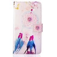 Varten Samsung Galaxy kotelo Korttikotelo / Lomapkko / Tuella / Flip Etui Kokonaan peittävä Etui Unisieppari Tekonahka SamsungJ5 (2016) /