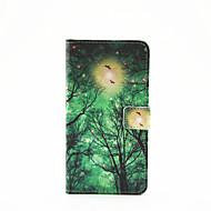 Για Samsung Galaxy Θήκη Θήκη καρτών / με βάση στήριξης / Ανοιγόμενη / Με σχέδια / Μαγνητική tok Πλήρης κάλυψη tok Δέντρο Συνθετικό δέρμα