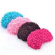 2 pcs chenille sapato cobre chinelos de limpeza preguiçoso arrasto mop mãe presente ecológico
