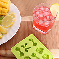 arco DIY dulces botones de silicona hielo de la forma de celosía color al azar enrejado del hielo