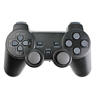 PS3, PS2 , PC 용 무선 진동 컨트롤러 (2.4Ghz, 블랙)