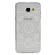 Varten Samsung Galaxy kotelo Läpinäkyvä / Kuvio Etui Takakuori Etui Mandala TPU Samsung A7(2016) / A5(2016) / A3(2016) / A9