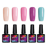 modelones 5pcs makeup gelpolish suge off gel polish nail art uv ledet lampe langvarig gel C105
