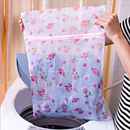 Flowers Fine Mesh Nylon Laundry Bag Bra Care Wash Bags Child
