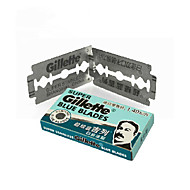 5 Super Blue Gillette Blades Double Edge Razor Blades