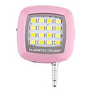 compacte novelty buitenlicht-compensatie lamp voor iPhone 6s / 6 / samsung s6 / S5 / iPad en ga zo maar door