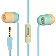 L-6 Fashion Earphone 3.5 mm General In-ear Headphones For iphone samsung(Assorted Colors)