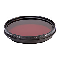 fotga® all-in-one verstelbare 530nm-750nm infrarood ir pas x-ray lens filter 77mm