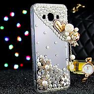 Til Samsung Galaxy etui Etuier Rhinsten Bagcover Etui Glitterskin TPU for Samsung J7 J5
