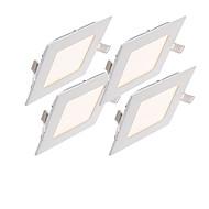 3W Panellamper 15 SMD 2835 220~260 lm Varm hvid Kold hvid Naturlig hvid Justérbar lysstyrke DekorativVekselstrøm 220-240 Vekselstrøm