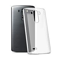 Na Etui do LG Przezroczyste Kılıf Etui na tył Kılıf Jeden kolor Miękkie TPU LG LG K10 / LG K7 / LG G5 / LG G4 / LG G3
