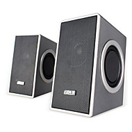 USB Power Laptop Computer Speakers With 3.5mm Microphone Headphone Audio