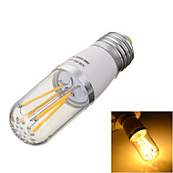 Marsing E27 4W 4-COB 400lm Warm/Cool White Light LED Filament Bulb Lamp(AC 85~265V)