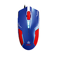 E-3lue EMS613 Wired Gaming Mouse (Captain America)