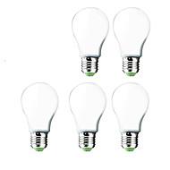 5 pcs e26 / E27 12w 30 SMD 5730 1000 lm g60 branco frio levou globo lâmpadas ac 220-240 V