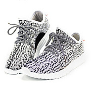 Running Running Shoes Men's Anti-Slip / Damping / Wearproof / Breathable Coconut Shoes/Yeezy Boost Gray / Black Running/Jogging