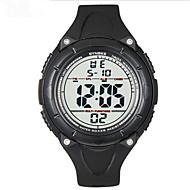 SYNOKE Muškarci Sportski sat Ručni satovi s mehanizmom za navijanje Šiljci za meso LCD Kalendar Kronograf Vodootpornost alarm Svjetleći