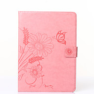 Butterfly Flower Pattern PU Leather Protective Case for Galaxy Tab T110/T230/T530/T560/T710/T810(Assorted Colors)