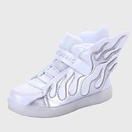 Удобная обувь-Полиуретан-Кроссовки / Мокасины(Черный / Синий / Белый / Темно-красный)