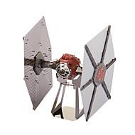 Puslespill 3D-puslespill / Metallpuslespill Byggeklosser DIY leker Romskip Metall Krystall / Sølv Modell- og byggeleke
