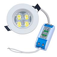 4W LED Encastrées 320-400lm lm Blanc Chaud LED Haute Puissance Décorative AC 85-265 V 1 pièces