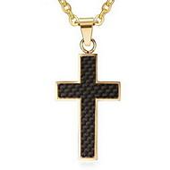 Ανδρικά Κρεμαστά Κολιέ Μενταγιόν Cross Shape Ανοξείδωτο Ατσάλι Cruce κοσμήματα πολυτελείας Κοσμήματα Για Καθημερινά Causal
