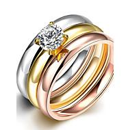 バンドリング ステートメントリング 指輪 キュービックジルコニア ジルコン キュービックジルコニア ファッション ボヘミアスタイル パンクスタイル 調整可能 愛らしいです タッセル 混色 ジュエリー 結婚式 パーティー 日常 カジュアル スポーツ 1個