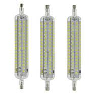 10W R7S Lâmpadas Espiga T 120 SMD 2835 800 lm Branco Quente / Branco Frio Impermeável / Decorativa AC 220-240 V 3 pçs