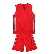 여성의-통기성 / 빠른 드라이 / wicking-민 소매-레저 스포츠 / 배드민턴 / 농구 / 달리기-의류 세트/수트(Others)