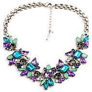 Damskie Naszyjniki z wisiorkami Akrylowy Stop Modny Kolorowy Biżuteria Na Ślub Impreza Codzienny Casual
