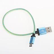 USB 2.0 Bærbar Aluminium Kabel 25cm