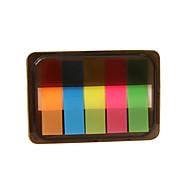 Box-Paket fluoreszierende Farbe selbstklebe Note (Farbe sortiert)