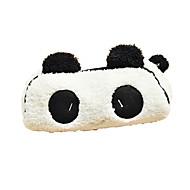 szép fekete-fehér panda szövet többcélú pénztárca (1 db)