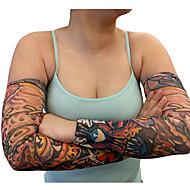 tattoo armstukken mouwen 2016 nieuwe aankomst fietsen manchet arm warmers zon ademend elastisch fiets (1 stuks)