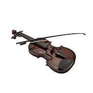 Kunststoff braun Simulation Kind Geige für Kinder ab 3 Musikinstrumente Spielzeug